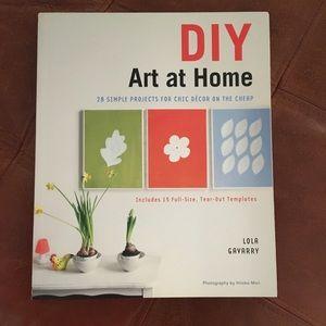 DIY Art at Home Book